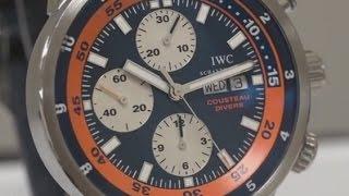IWC Jacques Cousteau Aquatimer Chronograph Ref No. IW378101