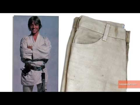 Top Sellers at Hollywood Memorabilia Auction‏ Include Luke Skywalker's Jeans