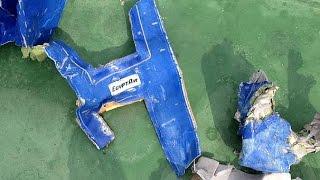 Речевой самописец разбившегося самолёта EgyptAir поднят на поверхность(Обнаружен и поднят на поверхность речевой самописец самолета А320 компании EgyptAir, который потерпел крушение..., 2016-06-17T12:37:17.000Z)