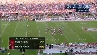 2005 #5 Florida vs. #16 Alabama (HQ)