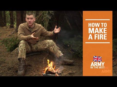 Bushcraft: How to make a fire | British Army
