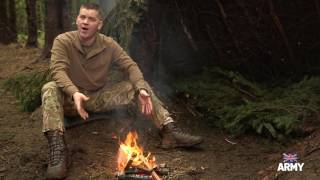 Bushcraft: How to make a fire | British Army