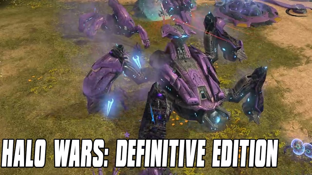 Halo Wars: Definitive Edition Gameplay Prophets Mighty Scarab