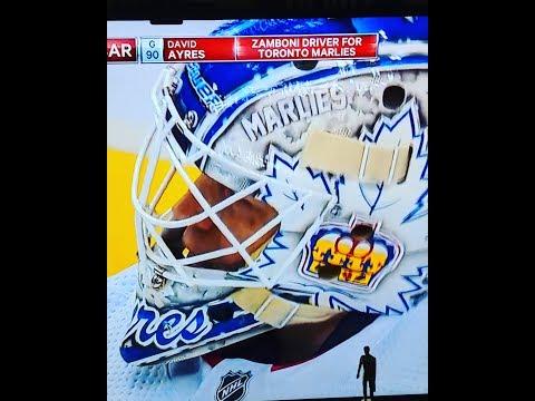 New Hockey Folk Hero, David Ayres