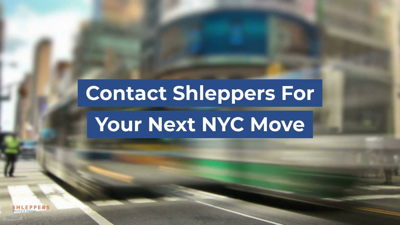 Local New York City Moving Made Easy | Shleppers Moving U0026 Storage