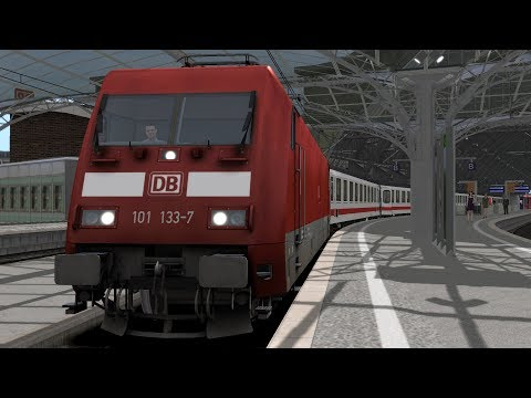 Train Simulator Cologne(Köln) - Koblenz Scenario Pack 1: DB BR101 - 7: Intercity 2313