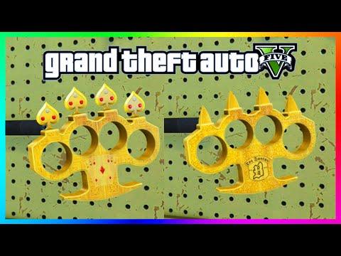 GTA 5 DLC UPDATE - NEW SPECIAL Knuckle Dusters & Powerful Marksman Pistol! (GTA 5)