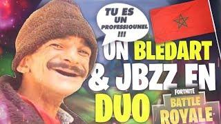 """Tu es un professiounel !"" UN BLEDARD MAROCAIN ET JBZZ SUR FORTNITE"
