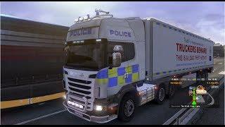 Euro Truck Simulator 2 - Police Truck / Romanian Map