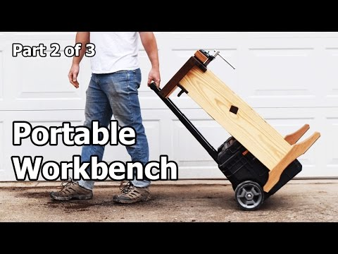 How to Build a Portable Woodworking Workbench – Part 2 of 3