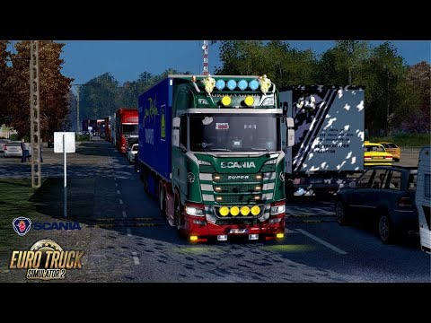 ETS2 1.30 The Moscow Region Scania S580 Voskresensk - Batraki Part 1