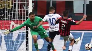 Milan-Atalanta 2-2 gol Higuaín , Bonaventura ,Gómez ,Rigoni fotogallery