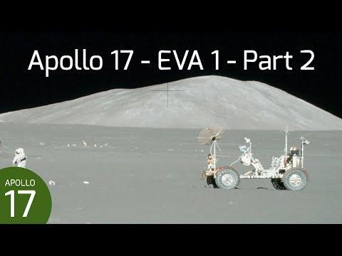 Apollo 17 EVA 1 - ALSEP & Deep Core