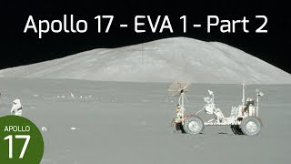 Apollo 17 EVA 1 - ALSEP & Deep Core