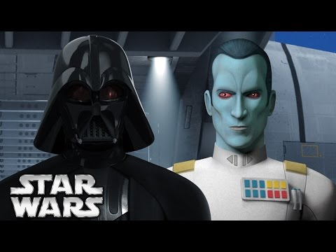 Darth Vader's Relationship to Grand Admiral Thrawn - Star Wars Canon vs Legends