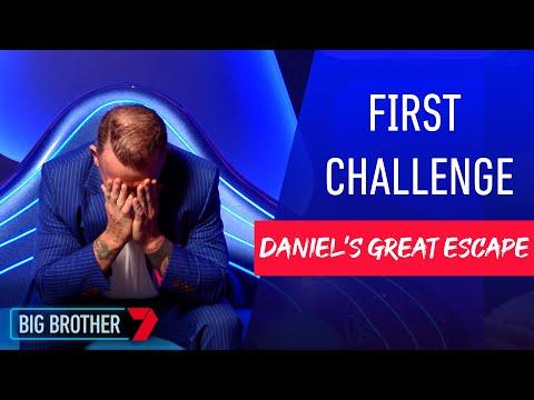 Daniel escapes the House | Secret Mission | Big Brother Australia