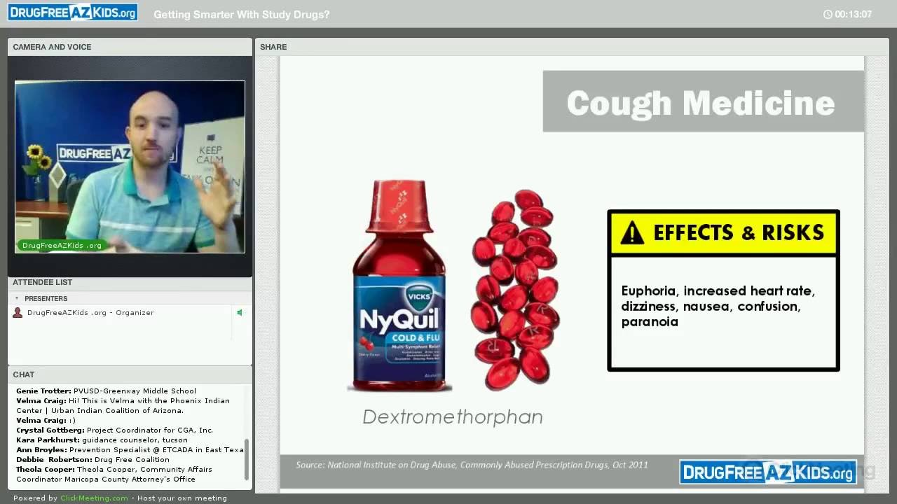 Getting Smarter With Study Drugs? - Webinar