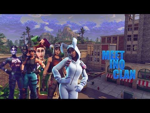 Meet INQ Clan  | Fortnite Montage