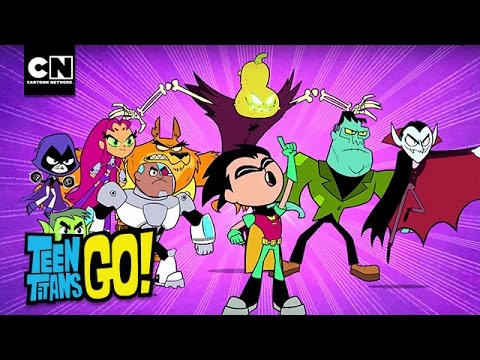Teen Titans Go! | Halloween vs Christmas | Cartoon Network - YouTube