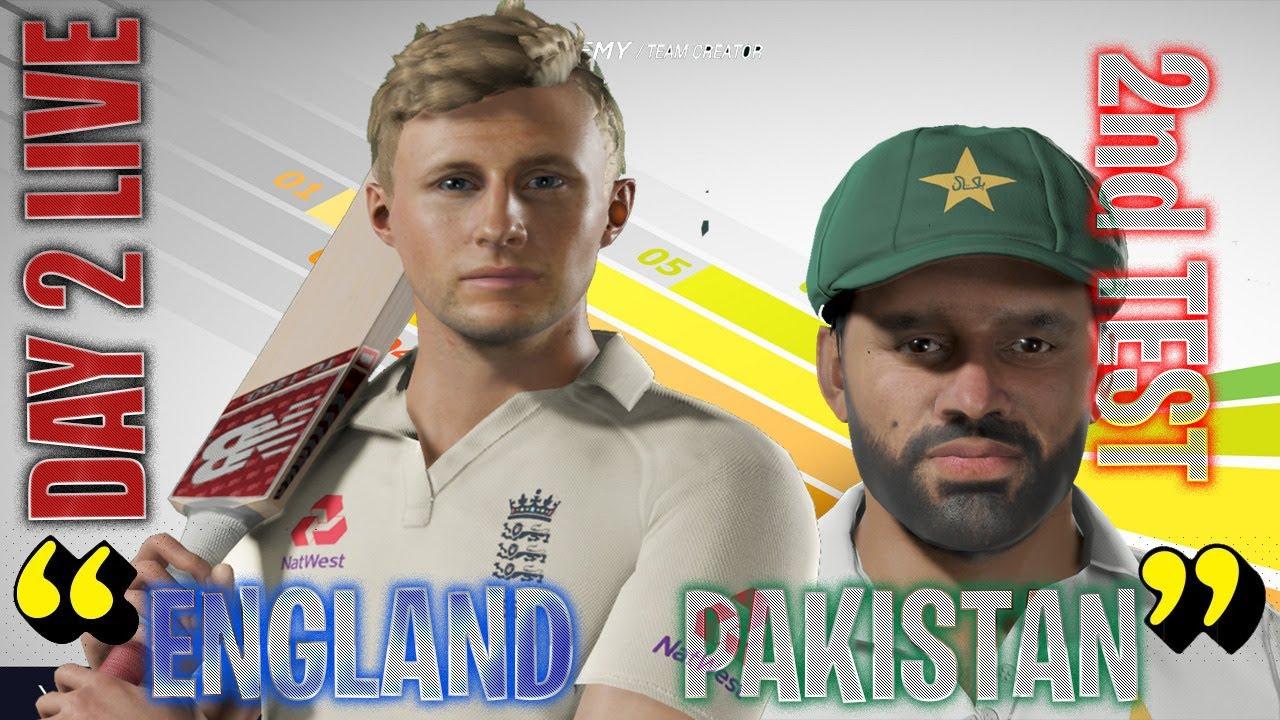 Day 2 - 2nd Test - England vs Pakistan - Cricket 19 Live Full Match Prediction 2020 Scoreboard