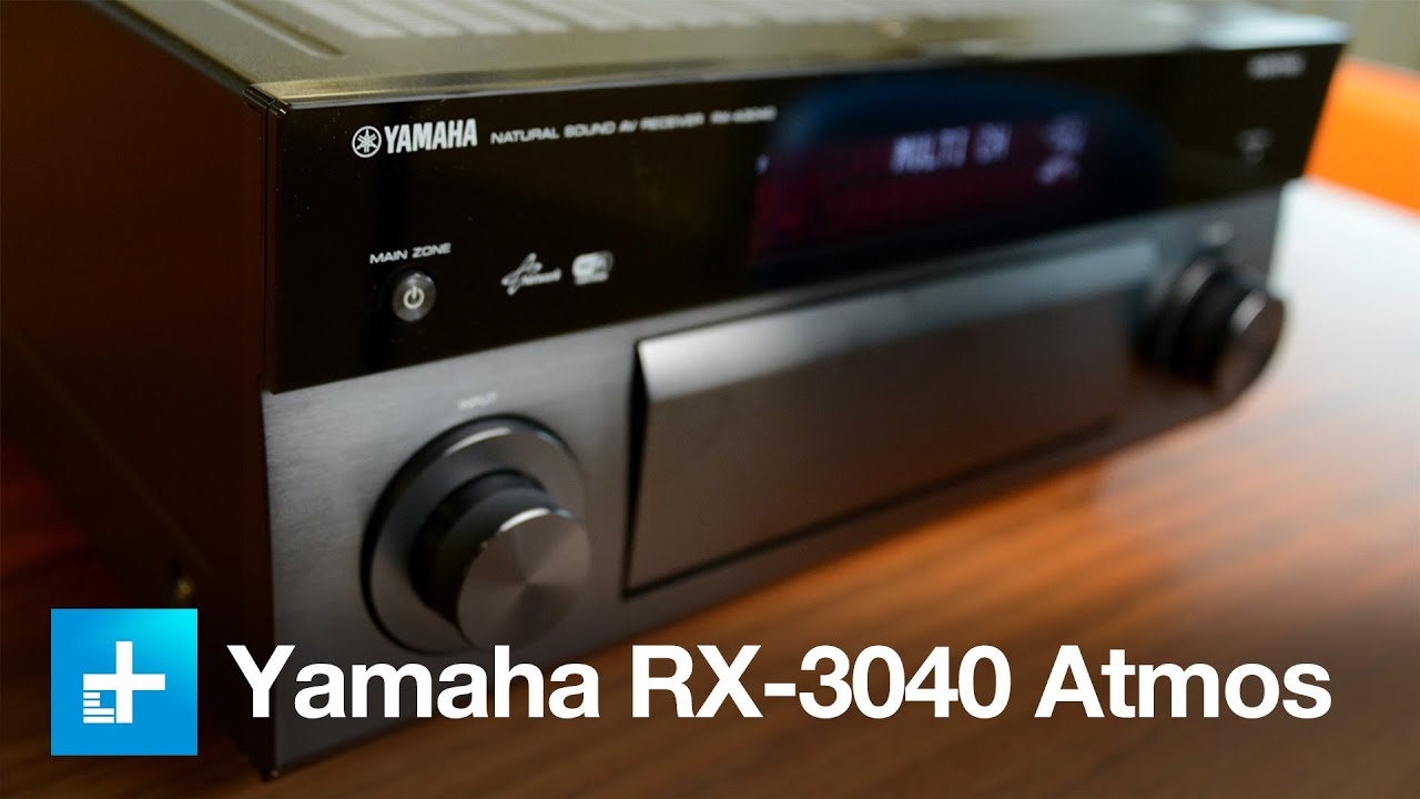 Yamaha Aventage RX-3040a Atmos Receiver - Hands On Review