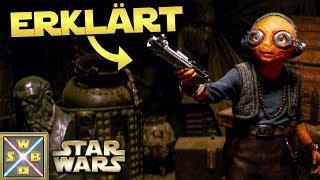 STAR WARS: MAZ KANATAS Leben erklärt + Wie sie an Lukes Lichtschwert kam
