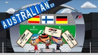 MiniDrivers - Chapter 5x01 - 2013 Australian Grand Prix