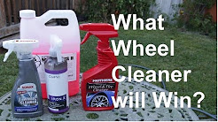 Best Wheel Cleaner for Brake Dust and Plastidip - Mothers vs. Sonax vs. CarPro Iron.X