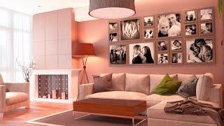 Интерьер двухкомнатной квартиры (двушки ). Современный дизайн интерьера(Интерьер двухкомнатной квартиры (двушки ). Современный дизайн интерьера Проект для семьи с маленькими..., 2016-09-15T17:13:54.000Z)