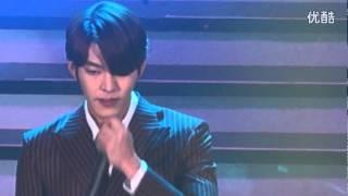 140329 Kim Woo Bin singing It's Fortunate @ Shanghai Fanmeeting