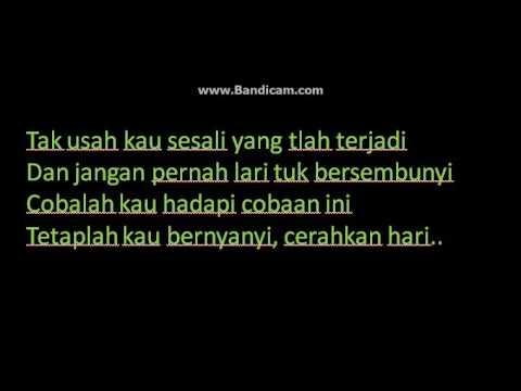 Bondan ft 2 black - Sesal - ( Lirik )