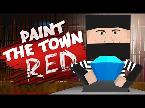 STEALTHY BANK AND ART GALLERY HEISTS - Best User Made Levels - Paint the Town Red