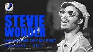 Stevie Wonder - Knocks Me Off My Feet - (Minus One - Lyrics - Karaoke)