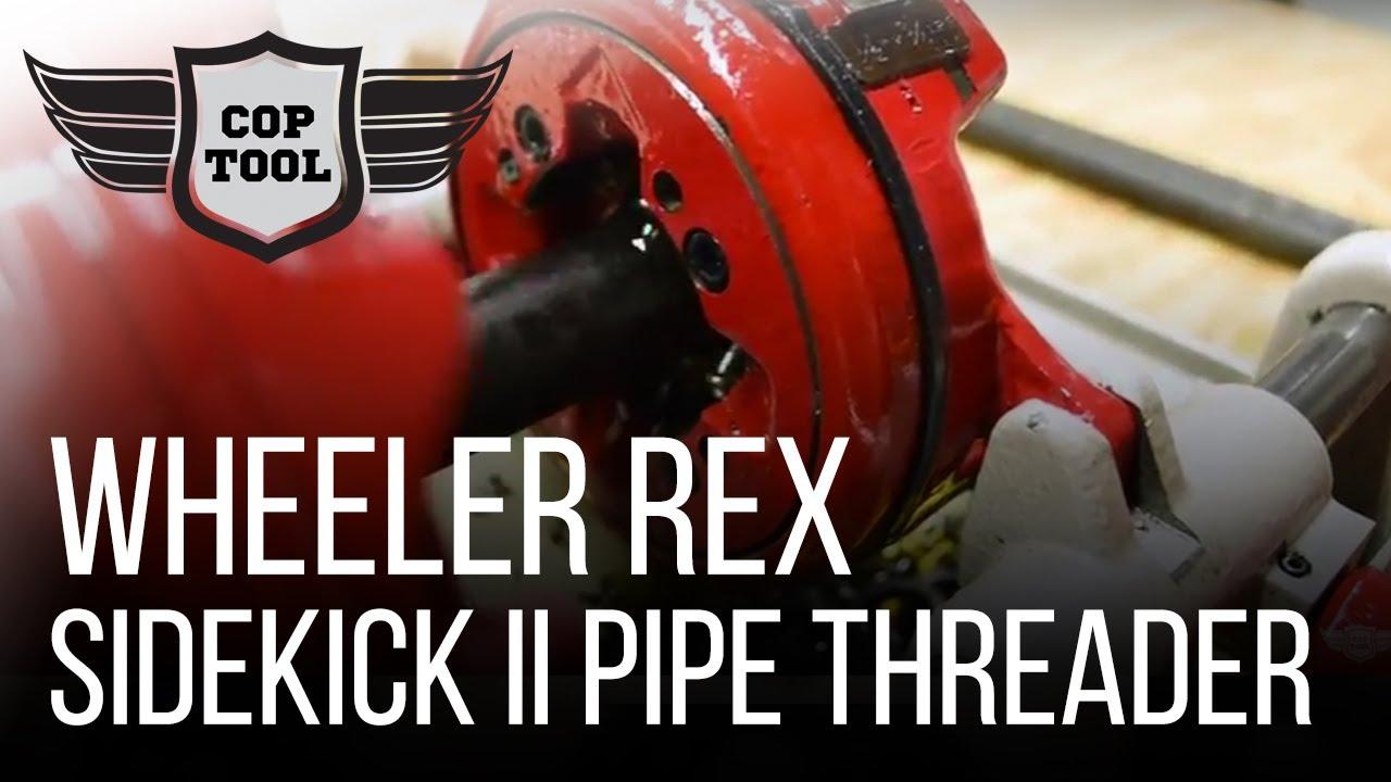 "Download Wheeler Rex SideKick II Pipe Threader 7991 - Cut, Thread, Ream Pipe Capacity 1/4""-1"""