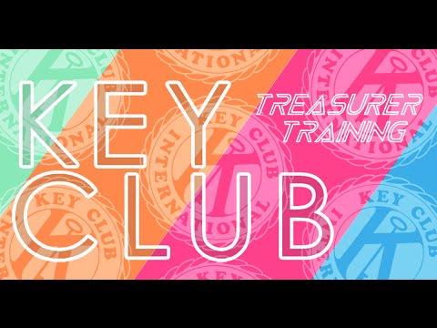 Key Club Treasurer Training