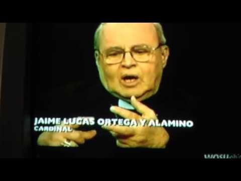 Charlie Rose with Cardinal Jamie y Alamino