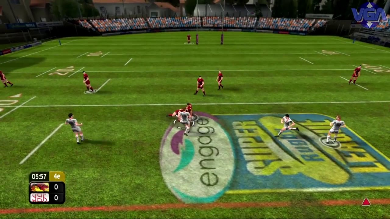 Fttn Rugby League Video Games 1992 2018 Youtube