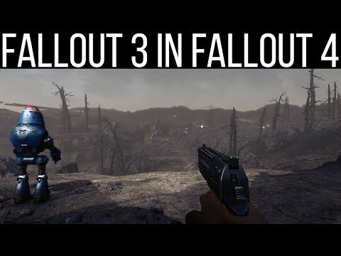 Some Actual Gameplay of Fallout 3 in Fallout 4