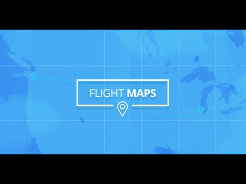 Flight Maps - Visualize Where You're Travelling ( After Effects Project Files)