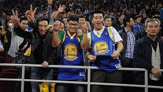 Warriors Fans in China
