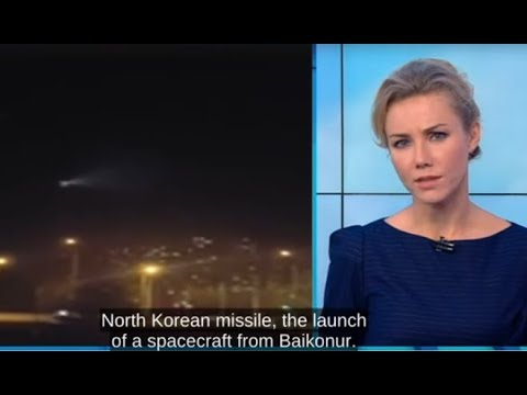 Is it UFO or Meteor!? - Russians Confuse ICBM Topol with UFO