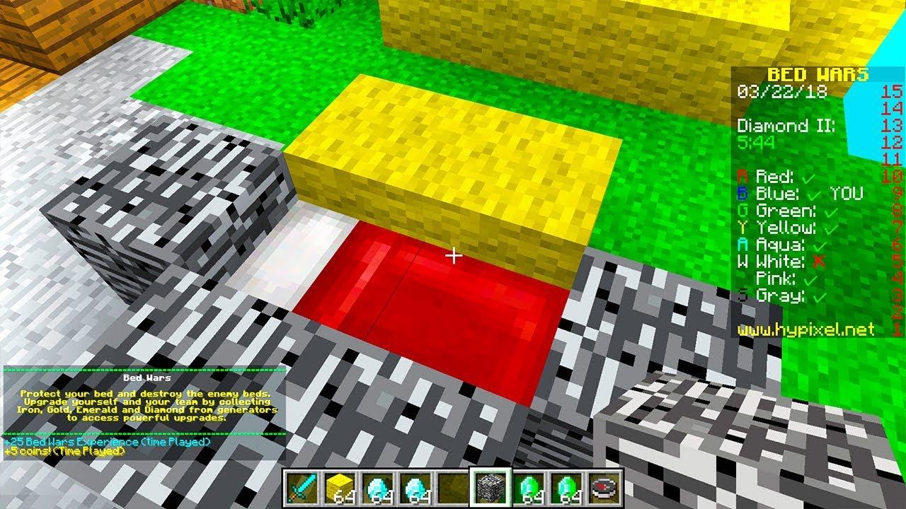 ADMIN GAVE ME CREATIVE MODE in MINECRAFT BED WARS! #Minecraft