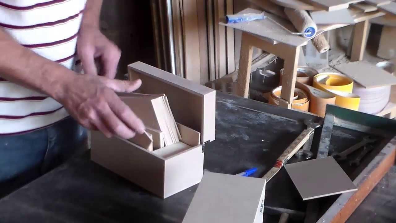Armario Para Cozinha De Parede ~ Como fazer caixas em mdf (artesanato) YouTube