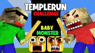 MONSTER SCHOOL : 8 NEW CUTE STUDENTS WITH BALDI MONSTER - FUNNY TEMPLERUN CHALLENGE