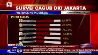 Survei Poltracking Indonesia: Ahok Kandidat Paling Unggul di Pilkada DKI