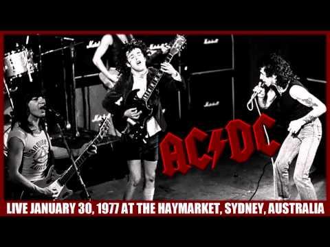 AC/DC Jailbreak LIVE: At The Haymarket, Sydney, Australia January 30, 1977 HD
