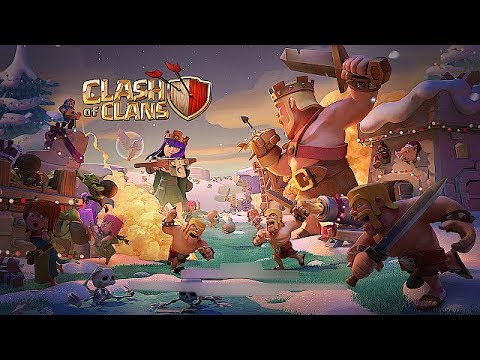 CHRISTMAS IS HERE!!!! | Clash Of Clans | CLAN GAMES!!!