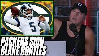 Pat McAfee Reacts To Packers Signing Blake Bortles