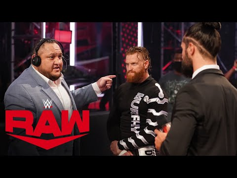 Samoa Joe stands up to Seth Rollins: Raw, Aug. 3, 2020