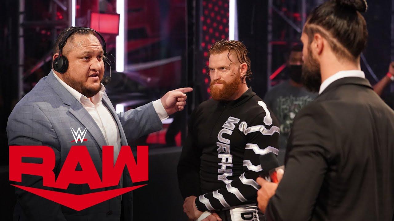 Samoa Joe stands up to Seth Rollins: Raw, Aug. 3, 2020